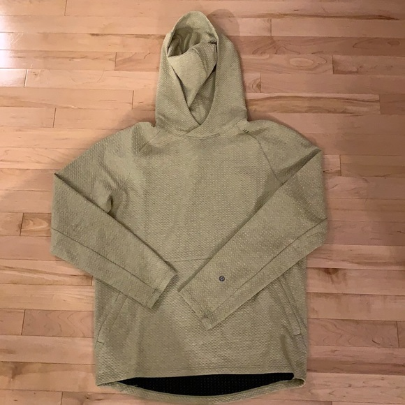 Lululemon light sage/yellow At Ease Hoodie size S